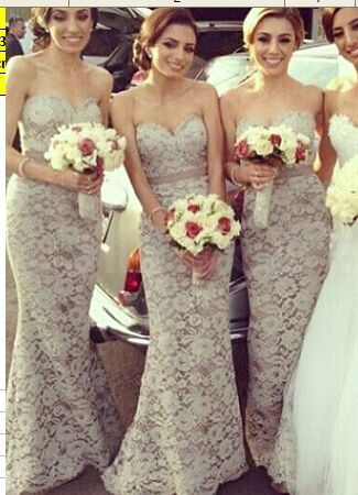 Lace Sweetheart Prom Dresses,Long Prom Dress,Evening Dresses