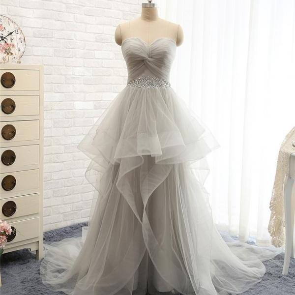 Floor Length Prom Dresses,Sweetheart Prom Dress,Evening Dress
